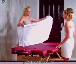 Innocent Massage Time - Anastasia - All Girl Nude Massage