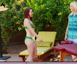 Rub My Naked Body - Annabelle Lee - All Girl Nude Massage