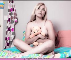 My Teddy Bear - Amanda - Happy Naked Teen Girls