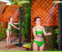 Showering in Nature - Annabelle Lee - Sweet Nature Nudes