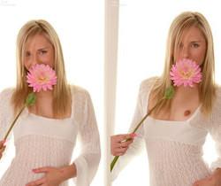 Kara Duhe - White Flower