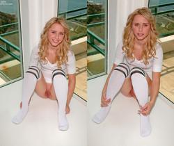 Kara Duhe - White Socks