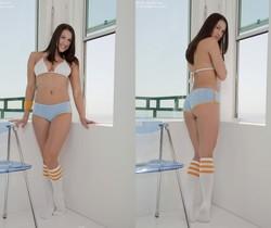 Misty Anderson - Blue Panties