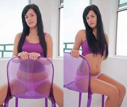 Hayley Hanes - Purple