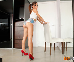 Ena Sweet - Too big for a sweet pussy