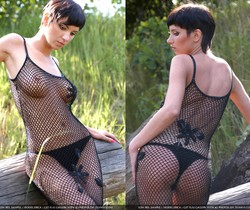Black mesh - Erica - Zemani