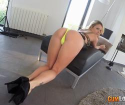 Angel Piaff - Pumping up Angel Piaff's ass