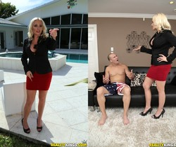 Alena Croft - Penetrate The Pussy - MILF Hunter