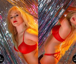 Amy Love's night club strip - Spinchix