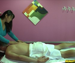 Mika Tan - Meat Massage - Happy Tugs