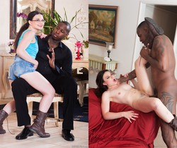 Amy Faye - My New Black Stepdaddy #19