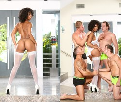 Misty Stone, Marcus London - White Out #02