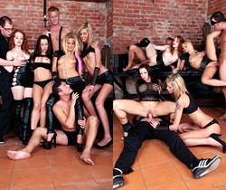 Bella Baby, Sindy Vega - Bachelor Party Orgy #05