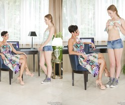 Alexis Crystal, Gabrielle Gucci - Her First MILF #17
