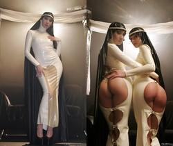Melissa Lauren, Katsuni, Belladonna - Fashionistas Safado
