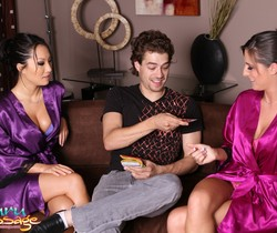 Asa Akira, Kortney Kane - Threesome Surprise