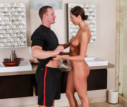 Angelica Saige - The New Gym - Fantasy Massage