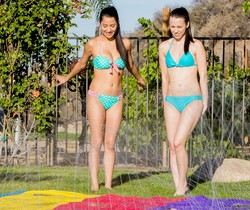 Megan Salinas, Veronika - Summer Fun - Girlsway
