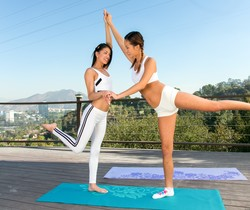 Alina Li, Veronica Rodriguez - My First Yoga Class