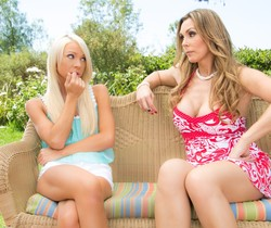 Katerina Kay, Tanya Tate - Caught Smoking - Girlsway