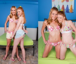 Marie McCray, Ellie Foxx - 2 Slits For 1 Dick