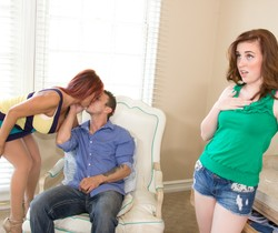 Ava Devine, Jessie Parker - Couples Seeking Teens #15