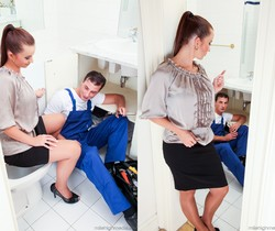 Cindy Dollar - My Friend's Horny Mom #03