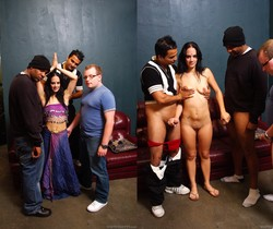 Vanita Sakala - Curry Cream Pie Gang Bang #04 - White Ghetto