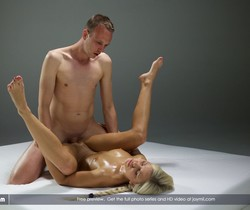 Oiled Up - Johny & Lara