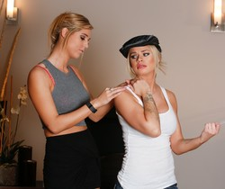 Jessa Rhodes, Val Dodds - The Taxi Girl - Fantasy Massage