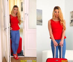 Bella Scaris - Busting On Bella - Mike's Apartment