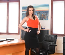 Vanessa Decker, Toby - Flippant Secretary - 21Sextury