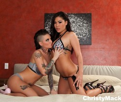 Watch as Christy Mack and London Keyes take on Ramon