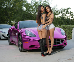 Veronica Rodriguez & Nina North - Hot Pink - Colette
