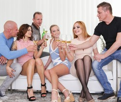 Billie Star, Vinna Reed, Eva Berger - Swingers Orgies #12