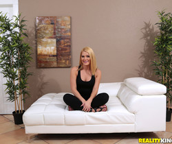Abby Cross - Kissing Cross - First Time Auditions