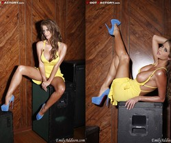 Emily Addison - Blue Suede Shoes