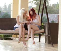 Kattie Gold, Lena Love - Girls Just Want To Have Fun