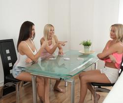 Cayla, Karol Lilien, Vanessa Decker - Lesbian Threesome
