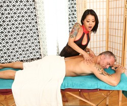 Saya Song - Asian Strip Mall Massage #02 - Devil's Film