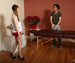 Alice March, Seth Gamble - Snack and Service - ALS Scan