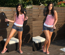 Madison Parker - Back Yard Play - ALS Scan