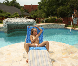 Leyla Black, Zack - Pool Boy - ALS Scan