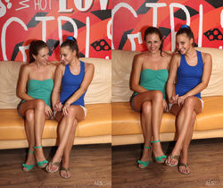 Amirah, Silvia James - Tribadism - ALS Scan