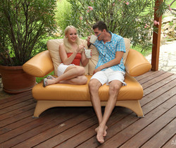 Christoph, Lola Taylor - Spooners - ALS Scan