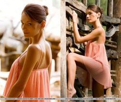 Leila A - Automne - MetArt
