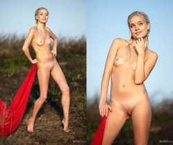Aljena A - Red Cape 2 - Erotic Beauty