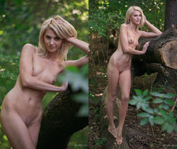 Lilly A - With The Trees - Erotic Beauty