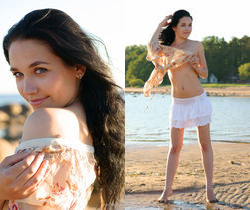 Olka - At The Beach 1 - Erotic Beauty