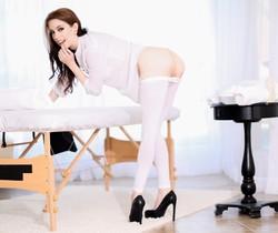 Anna De Ville - Sloppy, Anal Massage Slut Anna - Evil Angel